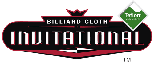 Championship Invitational Billiard Cloth with Teflon Protection - 25 Color Options