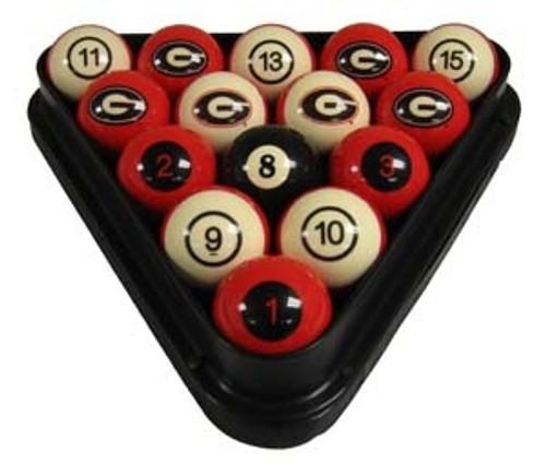 UGA Billiard Balls