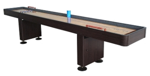 Challenger Shuffleboard Table Walnut
