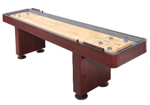 Challenger Shuffleboard Table Dark Cherry