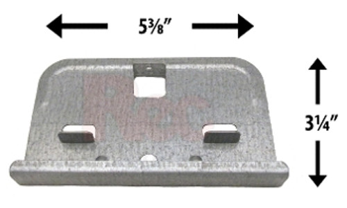 Wilbar Ponderosa Steel Bottom Plate - 10137 - Buy 3 or More and Save 10%