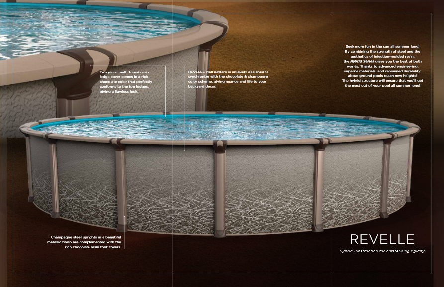 Revelle Resin Complete Pool Packages, Multiple Sizes Available, $2899.99 -  $5,999.99