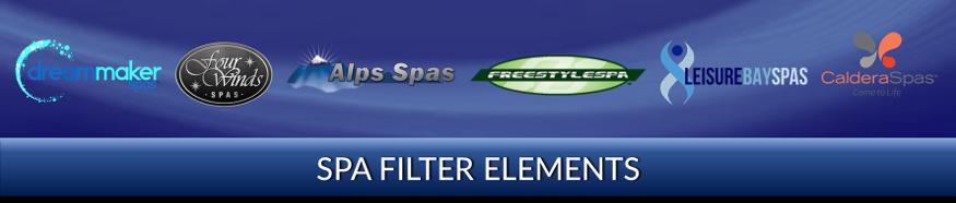 Spa Filter Elements Parts