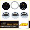AEM-X-Series Gauge Faces