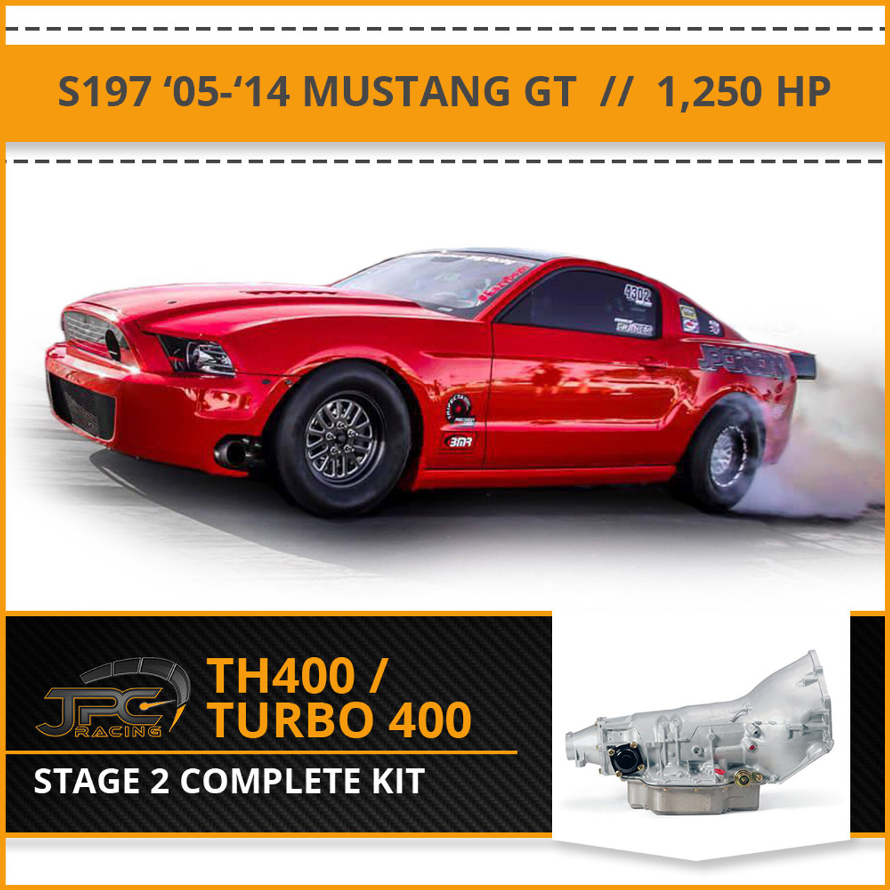 Turbo 400 3 Kit TH400 Shift  Package Stage 2