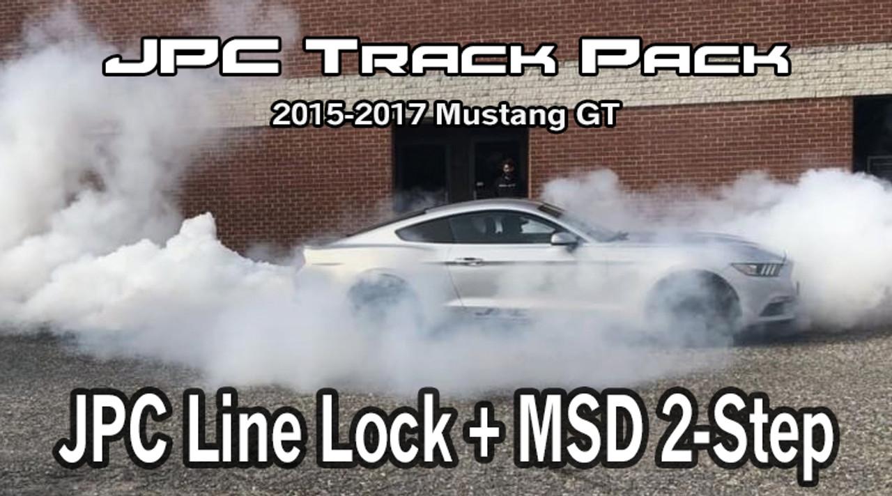 jpc 2015 up mustang gt track package jpc line lock msd 2 step justin s performance center jpc 2015 up mustang gt track package jpc line lock msd 2 step