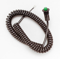 B&M- Racing Momentary Spiral Cord Button