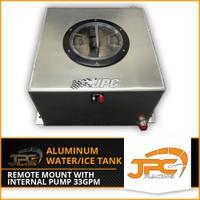 JPC- Aluminum Remote mount Water/Ice Tank w/ Internal Pump 33gpm