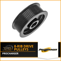 Procharger- 8 Rib Supercharger Pulleys