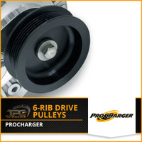 Procharger- 6 Rib Supercharger Pulleys