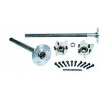 Strange- 2005-2014 31 Spline Axles w/ C Clip Elminators & 5/8 Studs - No ABS Reluctors
