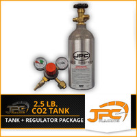 JPC- 2.5lbs CO2 Tank and Regulator Package