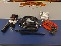 JPC- 2011-2014 Mustang GT Return Style Fuel System (1400 HP) w/ Rails - Black ASSEMBLED PTFE