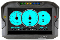 AEM- Digital Display CD-7 non-logging race dash, CAN input only,