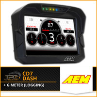 AEM- CD7 Dash W/ G meter  (Logging )