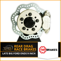 TBM Brakes-Rear Drag Race Brakes (LATE BIG FORD ENDS 9 Inch)
