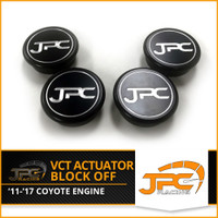 JPC- Coyote VCT Actuator Block off : (BLACK ONLY)