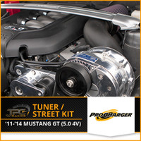 Procharger- 2011-2014 Mustang GT Stage II Intercooled Tuner Kit