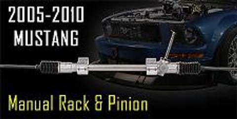 Flaming River- 2005-2017 Mustang Manual Rack & Pinion