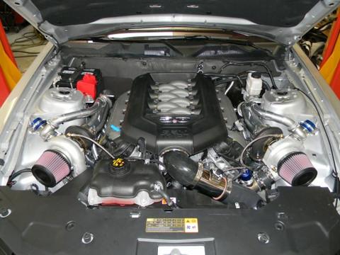 Hellion- 2011 - 2014 Mustang GT Twin Turbo (Tuner Kit)