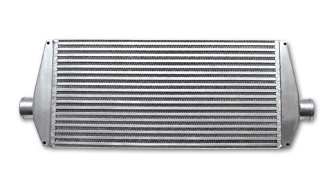 "Vibrant- Air-to-Air Intercooler with End Tanks (33"" x 12"" 3.5"") 3"" Inlet"