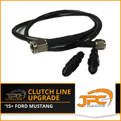 JPC- 2015-up Mustang GT BLACK Clutch Line Upgrade
