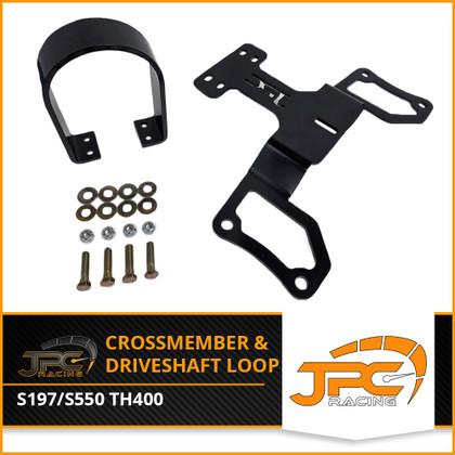 JPC- TH400 Crossmember and Driveshaft Loop (05-20)
