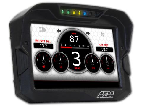 AEM- CD7 Dash W/ G meter  (Non Logging )