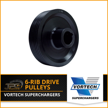 Vortech- 6-Rib Supercharger Drive Pulleys