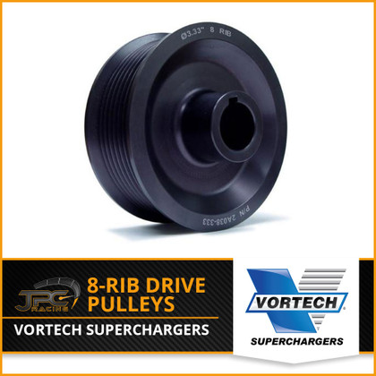 Vortech- 8-Rib Supercharger Drive Pulleys