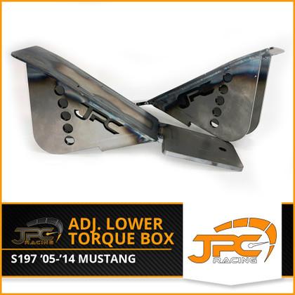 JPC- 05-14 Mustang S197 Adjustable Lower Torque Box Kit