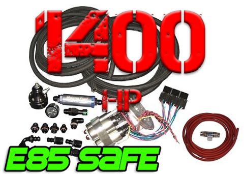 JPC- 96-04 GT Return Style Fuel System (1400 HP) w/ Rails
