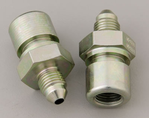 JPC- 94-up Mustang Brake Fitting to -3an Flare ( pair )