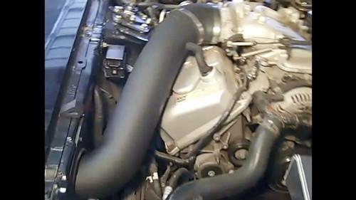 JLT- 99-01 Cobra Cold Air Intake Kit (Black Textured Plastic)