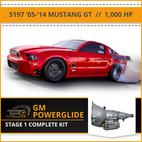 JPC- S197 Powerglide Swap Package - Stage 1