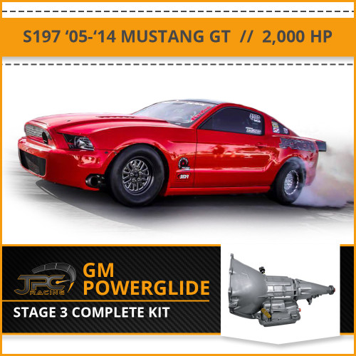 JPC- S197 Powerglide Swap Package - Stage 3