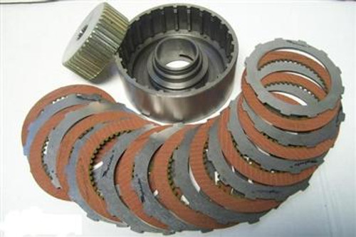 TSI- Powerglide 10 Clutch Drum w/ Clutches and Steels