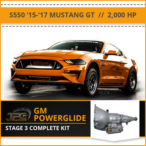 JPC- S550 Powerglide Swap Package - Stage 3