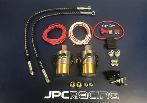JPC- 2015-up Mustang S550 Line Lock Kit w/ Stainless Steel Brake Line Upgrade