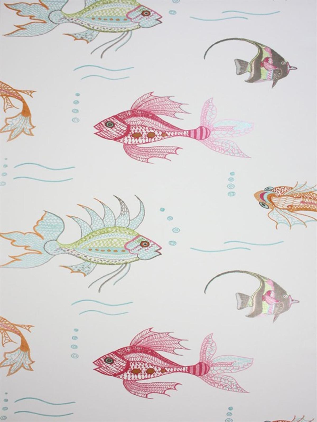 nina campbell perroquet aquarium