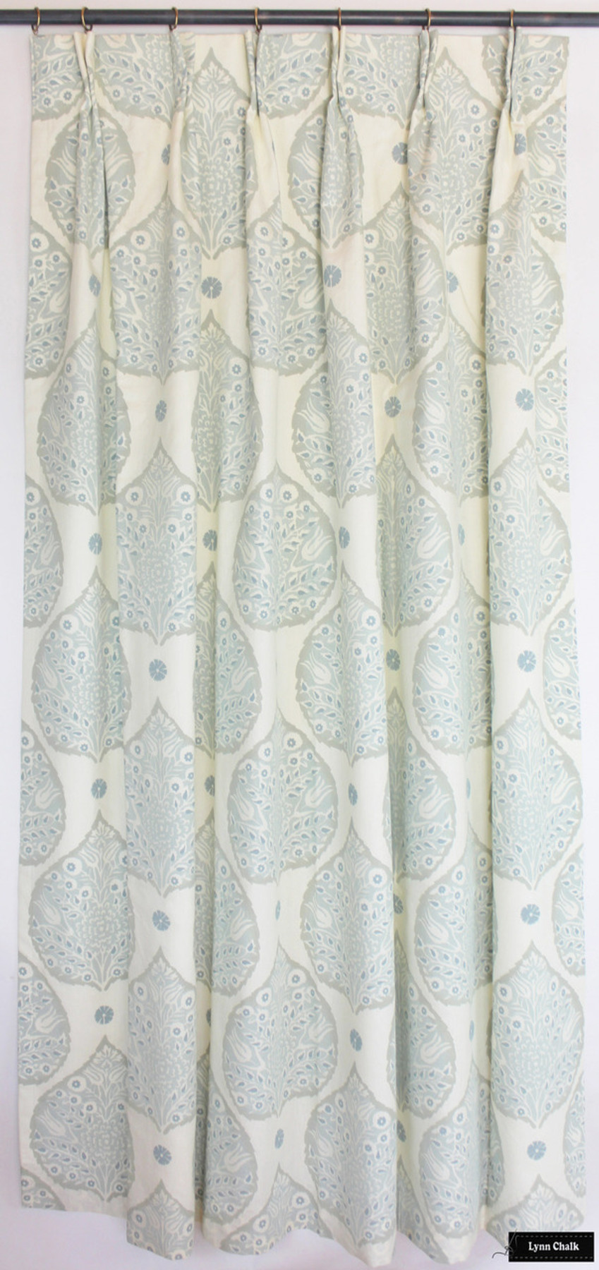 ... Galbraith & Paul Lotus Wallpaper - Shown in Indigo (Wallpaper Sold By The Yard ...