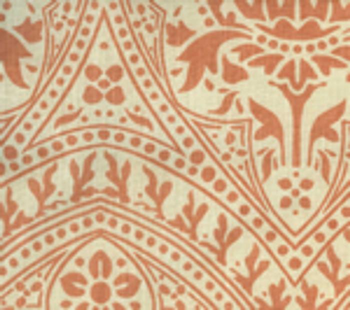 Quadrille Pina Terracotta on Tint