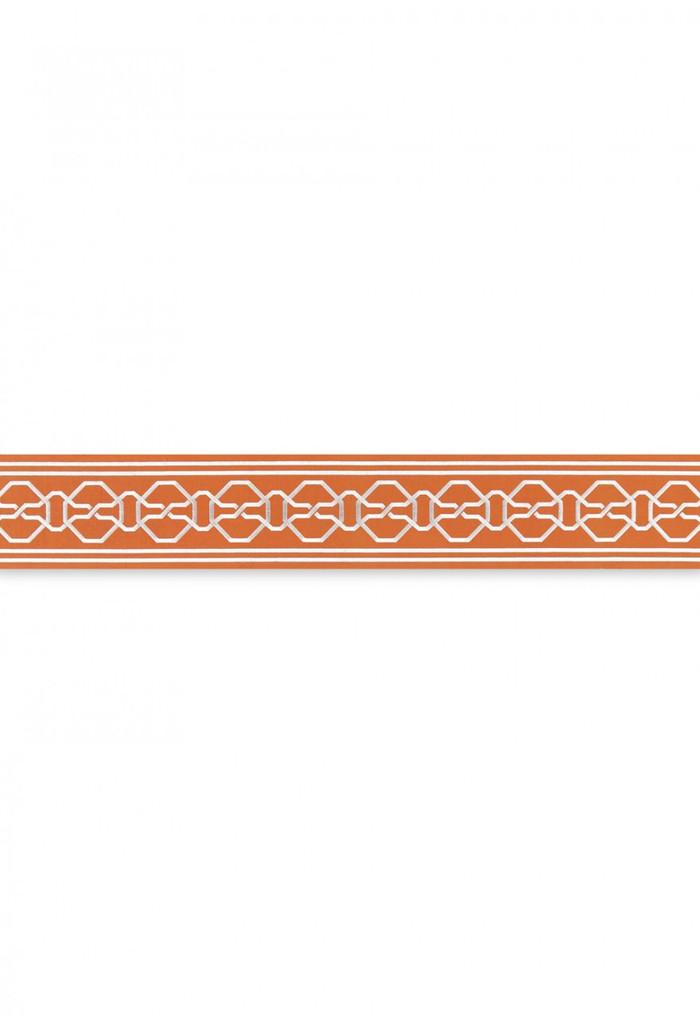 Schumacher Mary McDonald Malmaison Tape Tangerine 66152