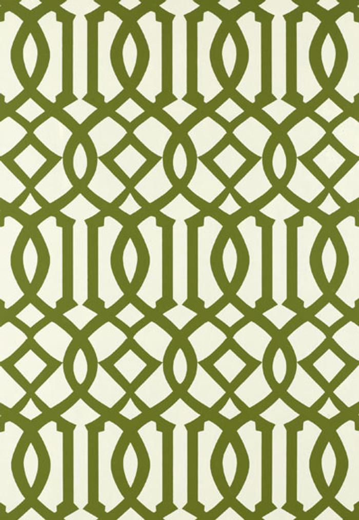Schumacher Imperial Trellis Treillage Wallpaper 2707212