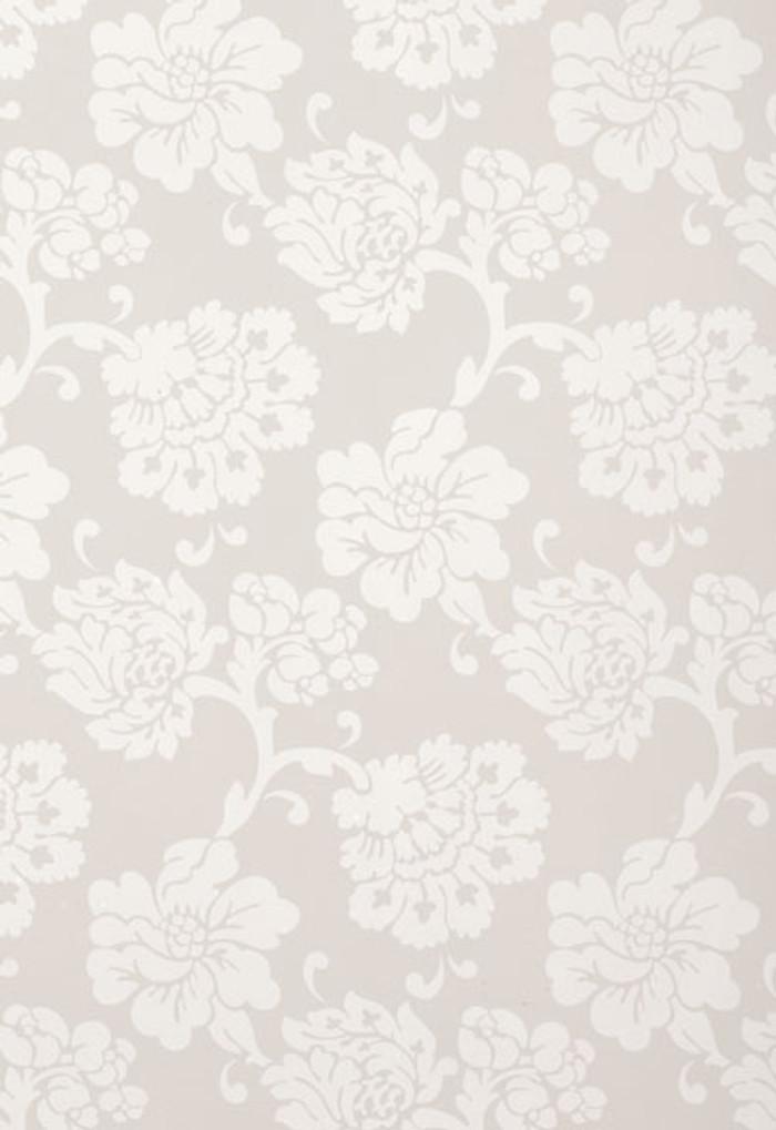 Schumacher Albero Floreale Grey Wallpaper 5003624