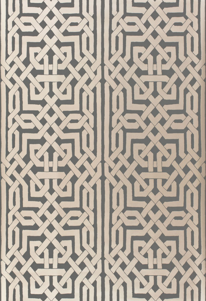 Schumacher Malaga Wallpaper Graphite 5005933
