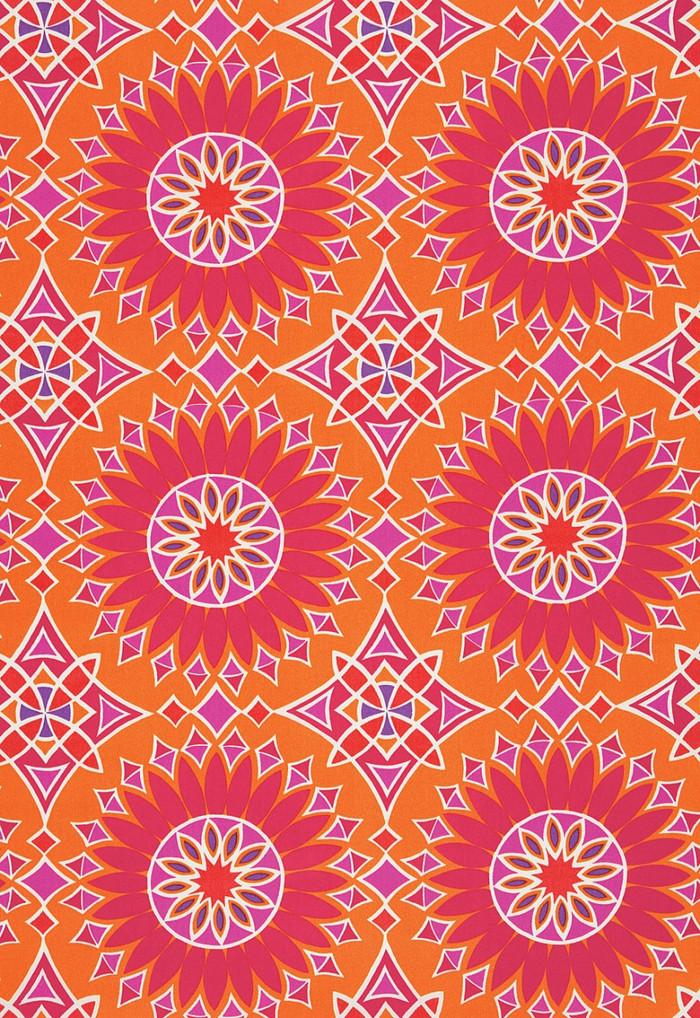 Trina Turk Soleil LA Print Sunset Acrylic Fabric
