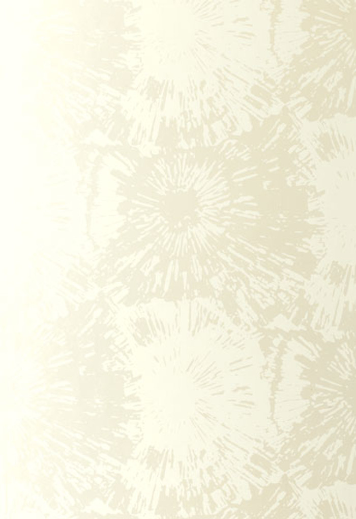 Schumacher Fireworks Wallpaper in White Opal 5003311