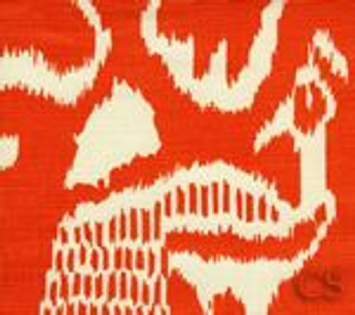 Quadrille China Seas Bali II Orange on Tint - 5 Yard Minimum Order