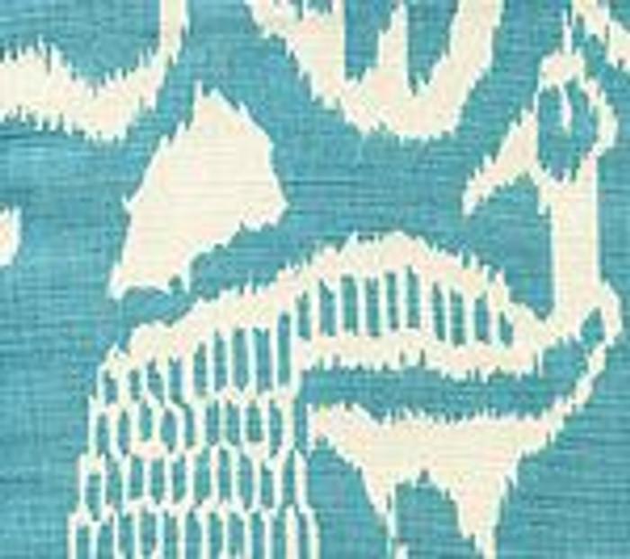 Quadrille China Seas Bali II Turquoise on Tint - 5 Yard Minimum Order